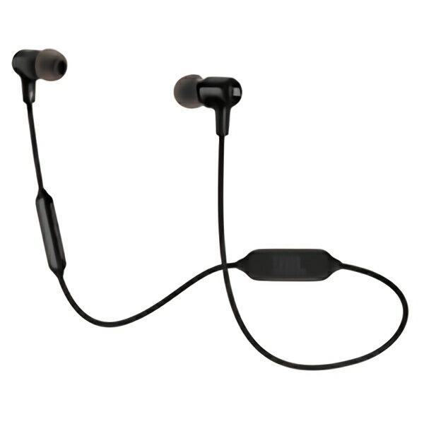 【Bluetooth ブルートゥース イヤホン】JBL(ジェイビーエル) E25BT BLK(ブラック) ワイヤレス イヤホン イヤフォン