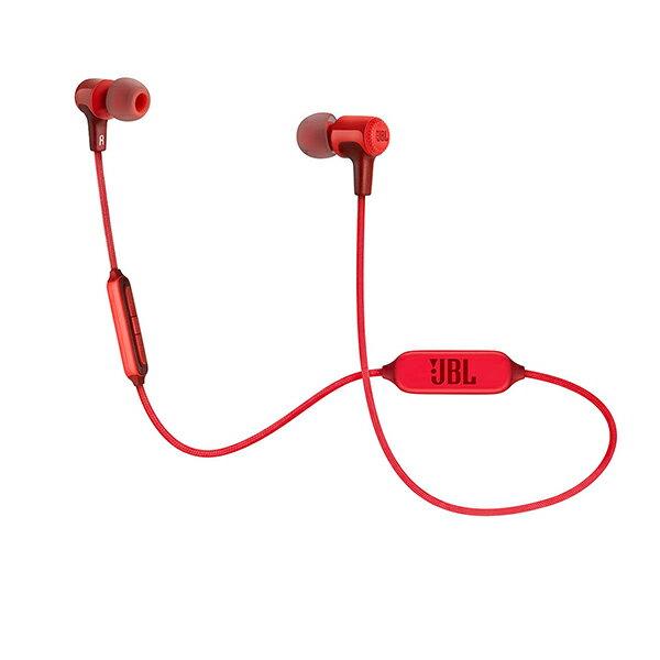 【Bluetooth ブルートゥース イヤホン】JBL(ジェイビーエル) E25BT RED(レッド) ワイヤレス イヤホン イヤフォン