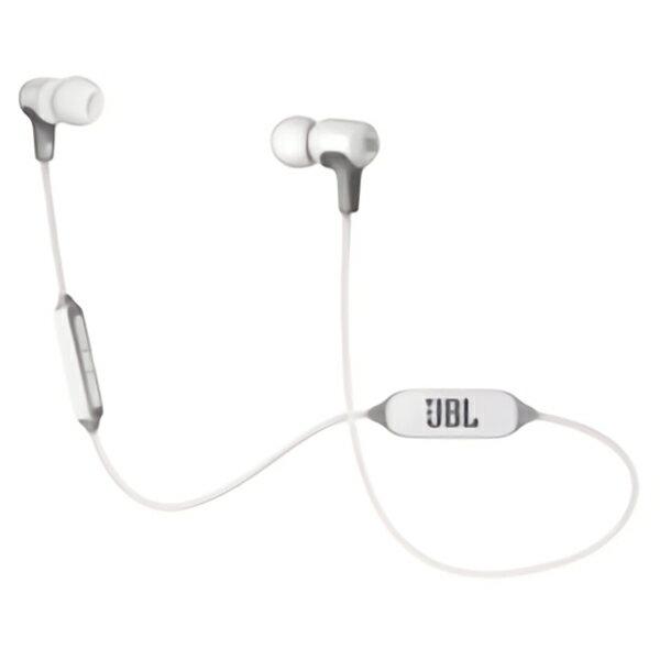 ワイヤレスイヤホン JBL E25BT WHT ホワイト Bluetooth ブルートゥース 両耳 通話 イヤフォン【1年保証】 【送料無料】