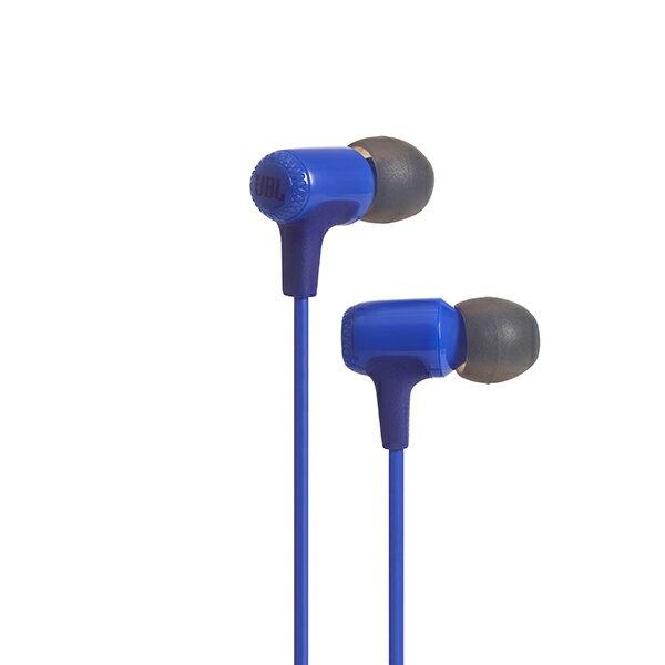 JBL E15 ブルー 【JBLE15BLU】 カナル型 イヤホン イヤフォン
