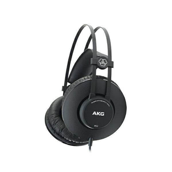 【ポイント2倍】 AKG アーカーゲー K52 プロフェッショナル・ヘッドホン ヘッドフォン 【2年保証】 【送料無料】