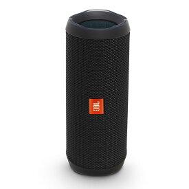 ワイヤレス スピーカー Bluetooth ブルートゥース スピーカー JBL FLIP4 ブラック 【JBLFLIP4BLK】 防水 ギフト 父の日 アウトドア キャンプ 【送料無料】【1年保証】