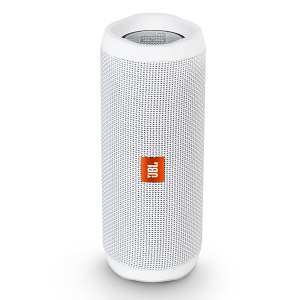 【防水 Bluetooth ブルートゥース ワイヤレス スピーカー】JBL FLIP4 ホワイト 【JBLFLIP4WHT】【送料無料】