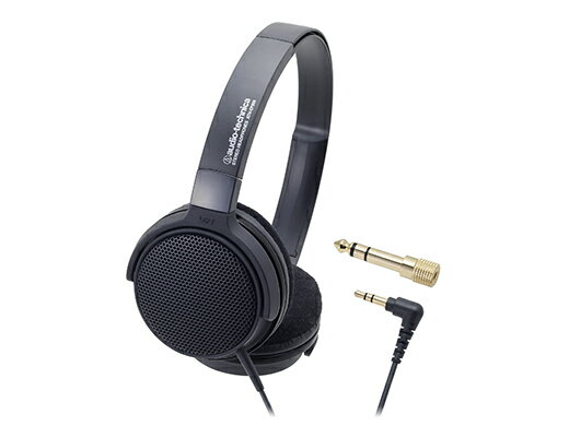 audio-technica(オーディオテクニカ) ATH-EP300-BK(ブラック) 楽器用オープン型モニターヘッドホン(ヘッドフォン)
