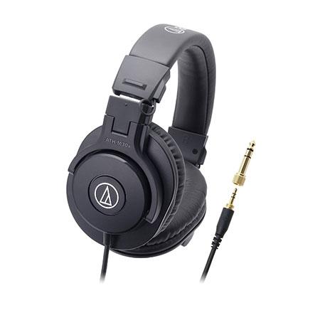 audio-technica(オーディオテクニカ) ATH-M30X 密閉型ヘッドホン/モニターヘッドホン(ヘッドフォン)