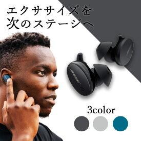 Bose ワイヤレス イヤホン Sport Earbuds ブラック ボーズ Bluetooth フルワイヤレス 完全ワイヤレスイヤホン マイク付き 防水 スポーツモデル 【送料無料】