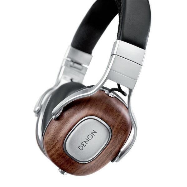 DENON デノン AH-MM400EM アメリカン・ウォールナット材採用の高音質ヘッドホン ヘッドフォン【送料無料】