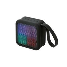 【在庫限り】 Bluetooth ワイヤレススピーカー ELECOM エレコム LED Bluetooth Wireless Speaker【LBT-SPLD01AVBK】 【送料無料】【6ヶ月保証】