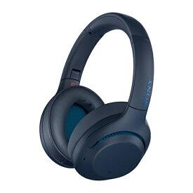 SONY ソニー Bluetooth ワイヤレス ノイズキャンセリング ヘッドホン WH-XB900N LC ブルー 【送料無料】【1年保証】