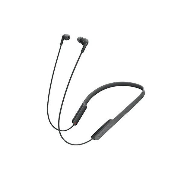 【ポイント5倍】 Bluetooth ブルートゥース ワイヤレス イヤホン SONY ソニー MDR-XB70BTB ブラック 【送料無料】 ネックバンド型
