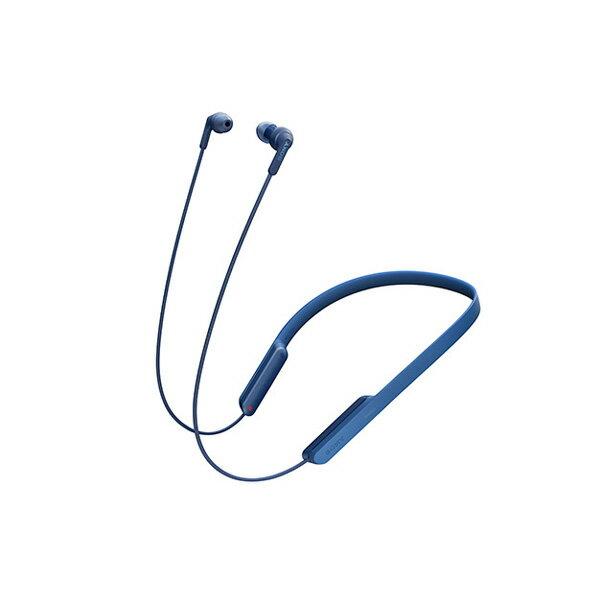 【ポイント5倍】 Bluetooth ブルートゥース ワイヤレス イヤホン SONY ソニー MDR-XB70BTL ブルー 【送料無料】 ネックバンド型 【1年保証】