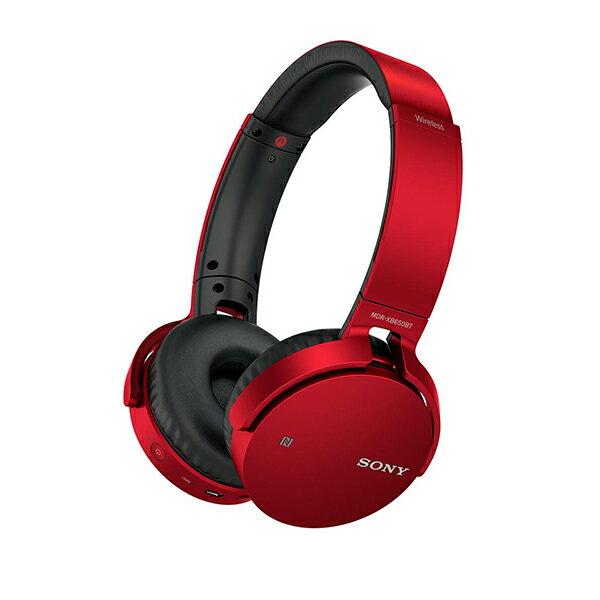 ワイヤレス ヘッドホン SONY ソニー MDR-XB650BT R レッド 重低音 Bluetooth ヘッドフォン 【送料無料】