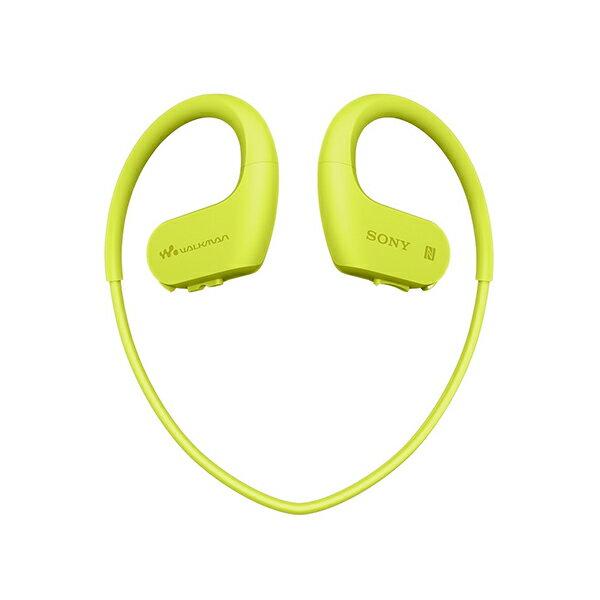 SONY(ソニー) NW-WS623 GM ライムグリーン 4GB ウォークマン Wシリーズ Bluetooth ブルートゥース機能搭載 メモリー・ヘッドホン一体型【送料無料】