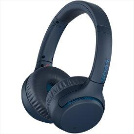 SONY ソニー Bluetooth ワイヤレス ヘッドホン WH-XB700 LC ブルー 【送料無料】【1年保証】
