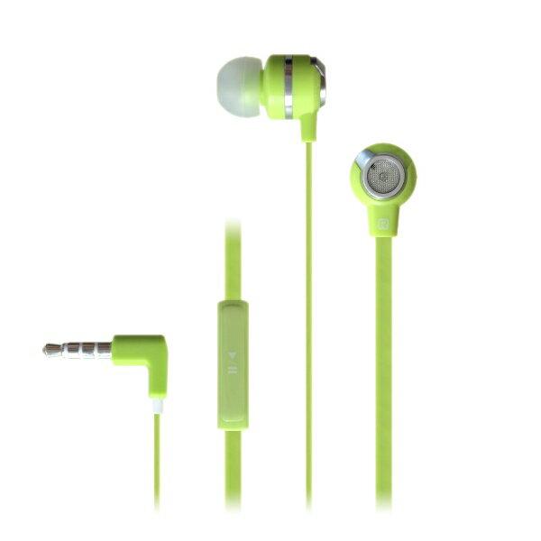 イヤホン iPhone MUIX(ミュイクス) IX1000 (グリーン) 1台で2つの音色を楽しめる2WAYイヤホン イヤフォン【DUAL SOUND SYSTEM搭載】断線しにくいフラットケーブル採用
