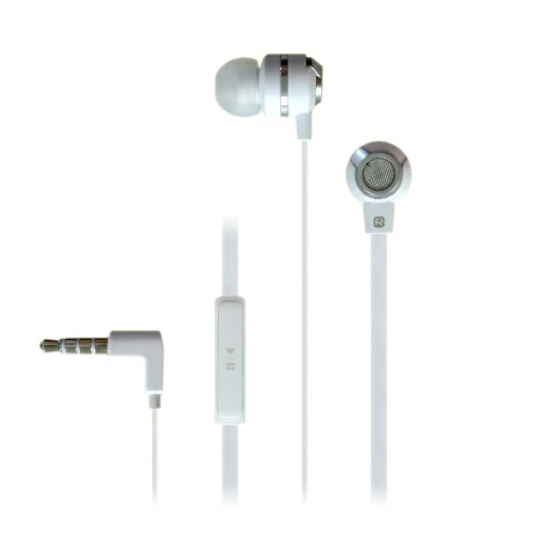 イヤホン iPhone MUIX(ミュイクス) IX1000 (ホワイト) 1台で2つの音色を楽しめる2WAYイヤホン イヤフォン【DUAL SOUND SYSTEM搭載】断線しにくいフラットケーブル採用