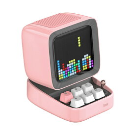 DIVOOM DITOO PINK 【DIV-DITOO-PK】 Bluetooth ワイヤレススピーカー 【送料無料】