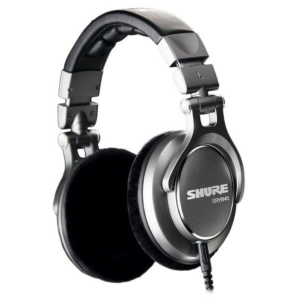 SHURE シュア SRH940 高音質ヘッドホン/モニターヘッドホン ヘッドフォン【送料無料】