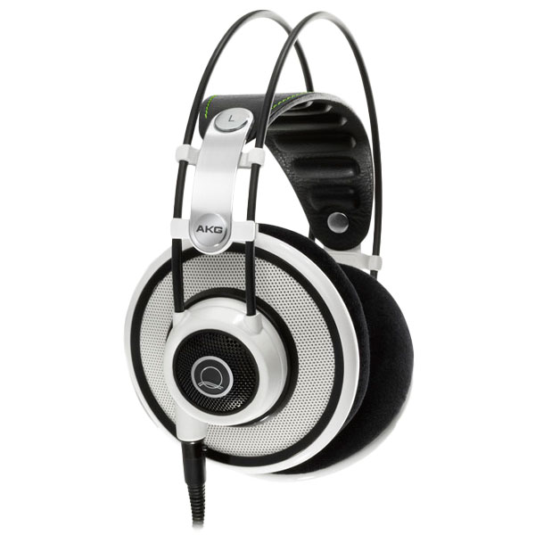 【送料無料】 【モニターヘッドホン】 AKG アーカーゲー Q701 WHT(ホワイト) 開放型ヘッドホン / モニターヘッドホン ヘッドフォン