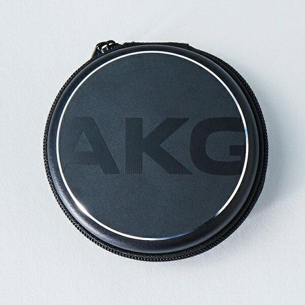 AKG(アーカーゲー) EARPHONE CASE ブラック【AKGEPCASEBLK】【イヤホンケース】
