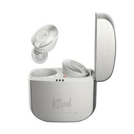 Klipsch T5 II TRUE WIRELESS SV シルバー ワイヤレス イヤホン Bluetooth 防水 IP67 マイク付き 外音取り込み 【送料無料】