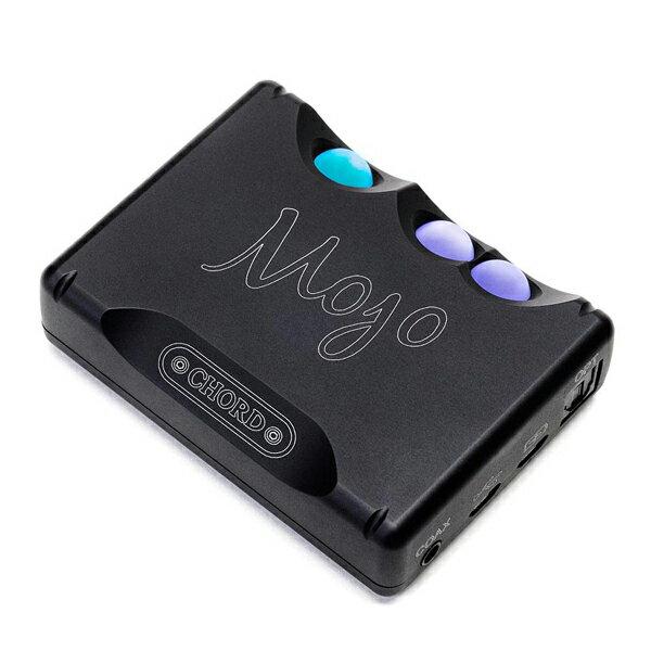 CHORD(コード) Mojo ブラック【MOJO-BLK】高出力ポータブルヘッドホンアンプ&DAC【送料無料】CHORDの究極サウンドをもっとコンパクトに! 【1年保証】【ケースプレゼントキャンペーン実施中】