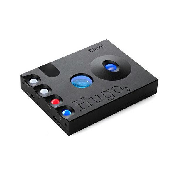 【新製品】Chord Electronics CHORD Hugo 2 Black 【HUGO2-BLK】【送料無料(代引き不可)】大容量バッテリー搭載の高性能高音質のモバイルDAコンバーター ポータブルDAC【次回納期未定】