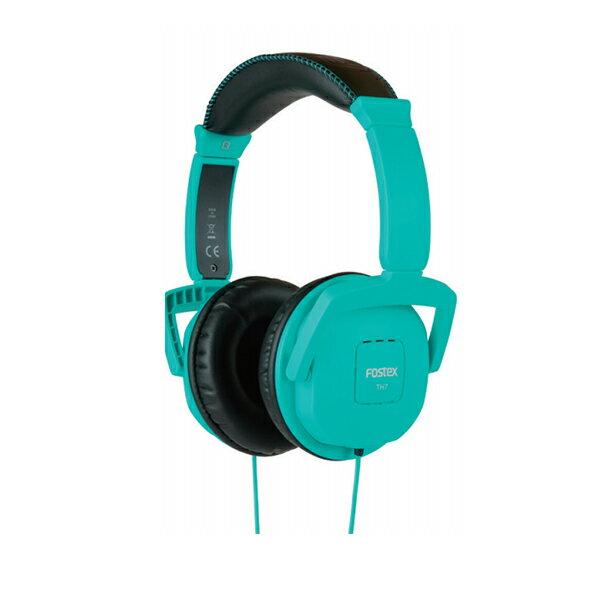 FOSTEX(フォステクス) TH7 BL (ターコイズブルー) 高音質密閉型ヘッドホン(ヘッドフォン)