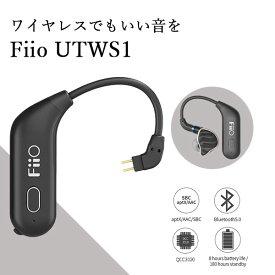 Fiio フィーオ UTWS1 2Pin 【FIO-UTWS1-2P】Bluetooth ワイヤレス リケーブル ワイヤレス化 アダプタ【送料無料】