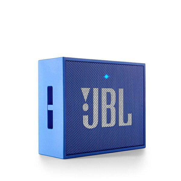 小型 Bluetooth ブルートゥース ワイヤレス スピーカー JBL GO ブルー【JBLGOBLUE】
