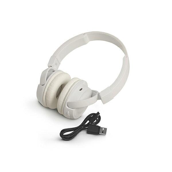 Bluetooth ブルートゥース ワイヤレス ヘッドホン JBL T450BT WHT (ホワイト)