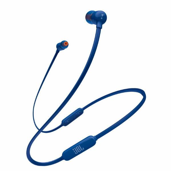ワイヤレス イヤホン Bluetooth イヤホン JBL T110BT ブルー 【JBLT110BTBLUJN】 ブルートゥース マグネット 無線 両耳 ワイヤレス イヤフォン 【店頭受取対応商品】【1年保証】 【送料無料】