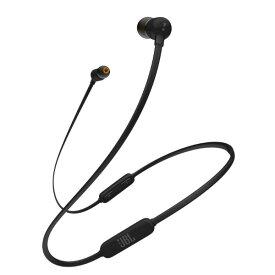 ワイヤレス イヤホン Bluetooth イヤホン JBL T110BT ブラック 【JBLT110BTBLKJN】 ブルートゥース マグネット 無線 両耳 ワイヤレス イヤフォン ギフト プレゼント 【1年保証】【送料無料】