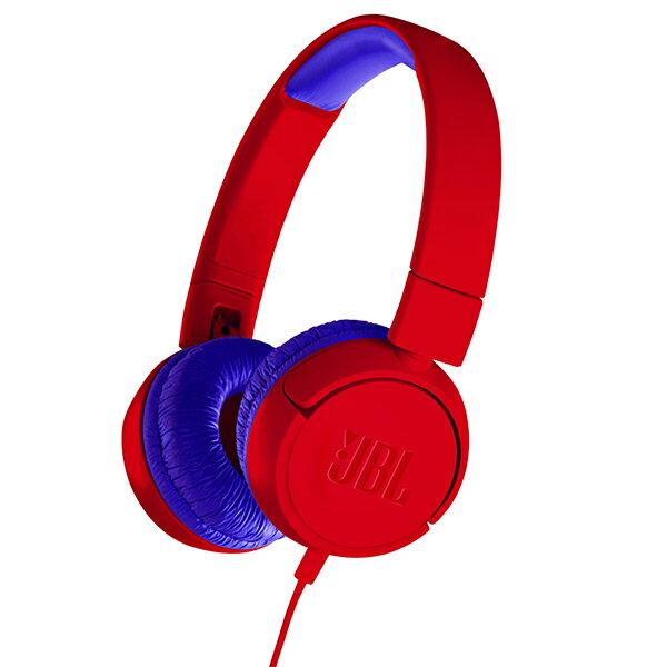 【ポイント2倍】 JBL JR300 レッド/ブルー 【JBLJR300RED】子供用 ヘッドホン キッズ ヘッドフォン