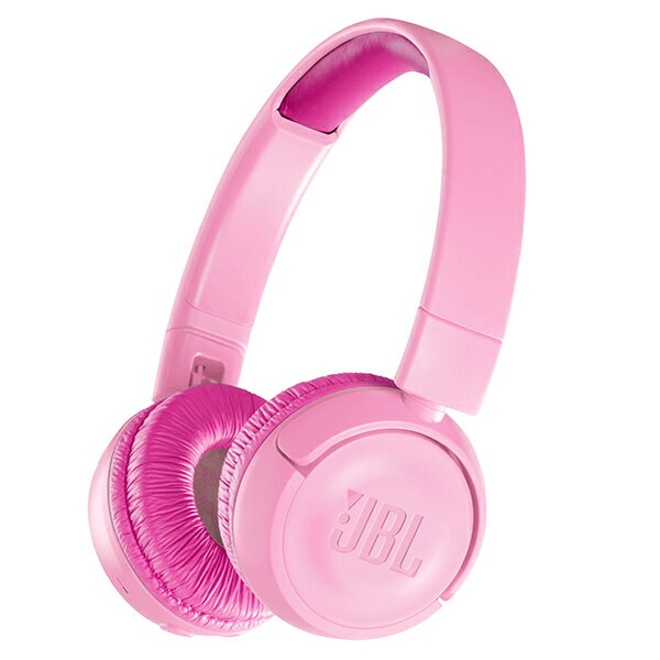 JBL JR300BT ピンク 【JBLJR300BTPIK】子供用 ワイヤレス ヘッドホン Bluetooth ブルートゥース キッズ ヘッドフォン 【1年保証】 【送料無料】