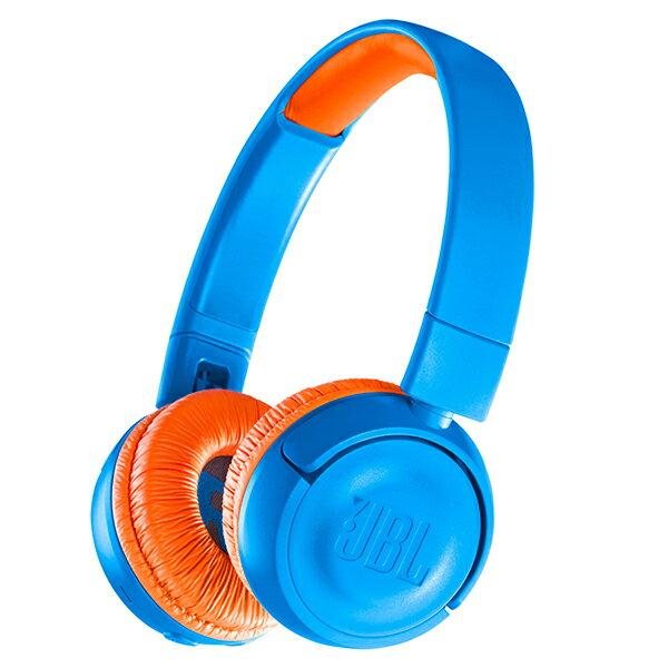 【ポイント2倍】 JBL JR300BT ブルー/オレンジ 【JBLJR300BTUNO】子供用 ワイヤレス ヘッドホン Bluetooth ブルートゥース キッズ ヘッドフォン 【1年保証】 【送料無料】