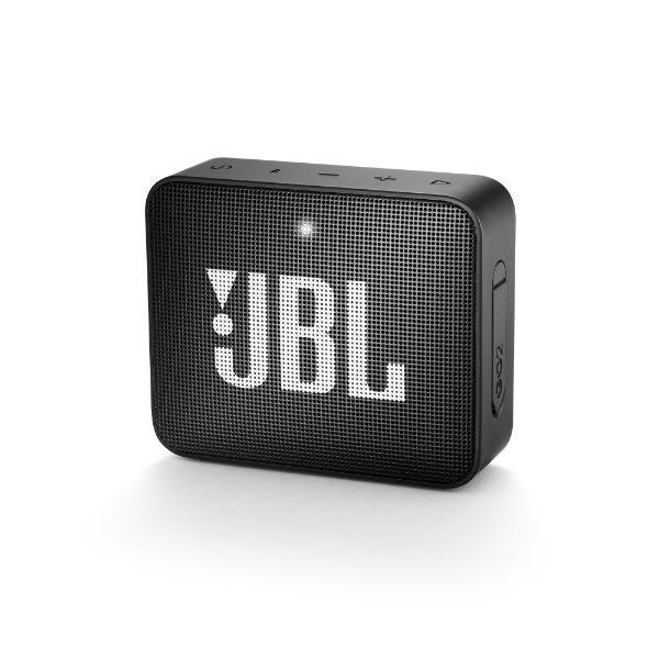 防水 ワイヤレス スピーカー Bluetooth スピーカー JBL GO2 ブラック 【JBLGO2BLK】 【1年保証】 【送料無料】