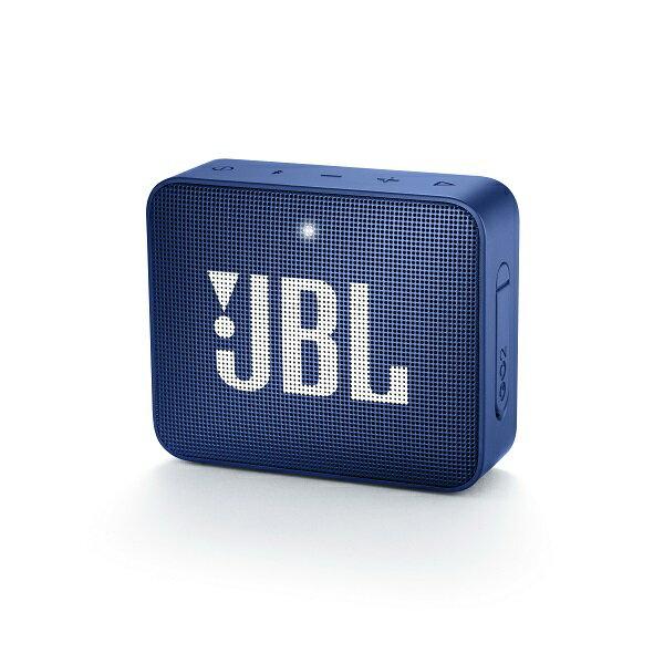 防水 ワイヤレス スピーカー Bluetooth スピーカー JBL GO2 ブルー 【JBLGO2BLU】 【1年保証】 【送料無料】