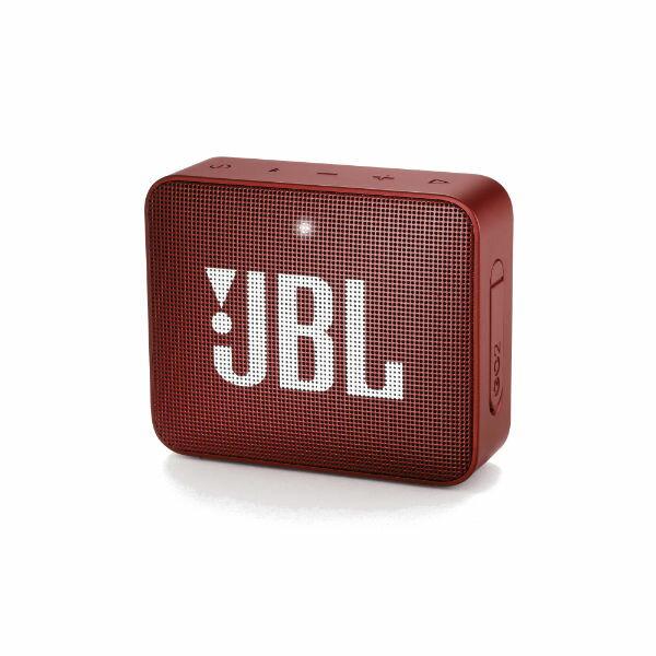 防水 ワイヤレス スピーカー Bluetooth スピーカー JBL GO2 レッド 【JBLGO2RED】 【1年保証】 【送料無料】
