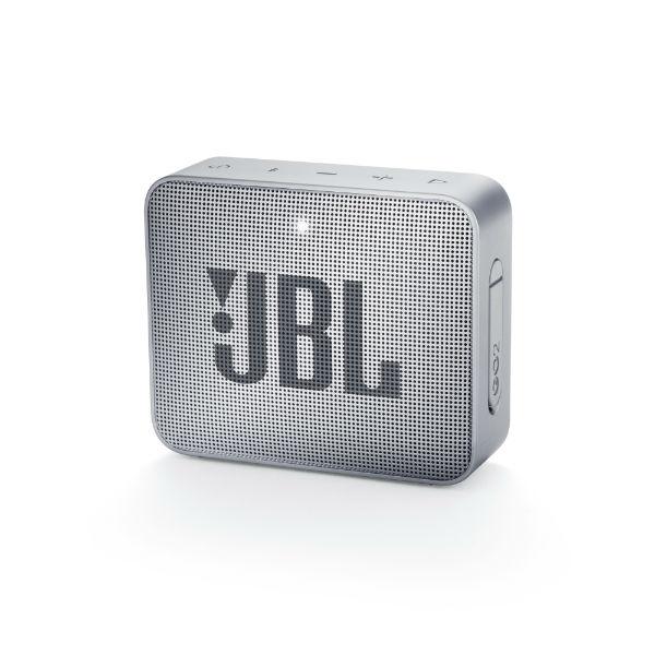 防水 ワイヤレス スピーカー Bluetooth スピーカー JBL GO2 グレー 【JBLGO2GRY】 【1年保証】 【送料無料】