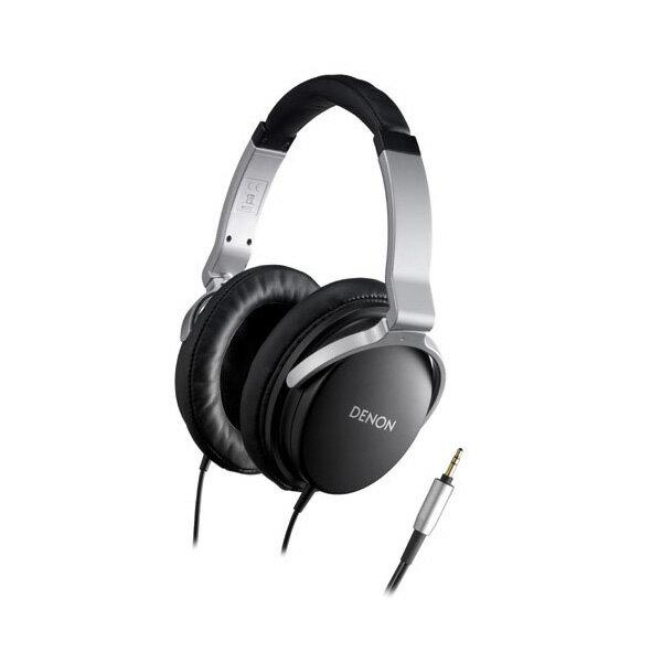 密閉型ヘッドホン DENON デノン AH-D1100-K(ブラック) 高音質 ヘッドフォン