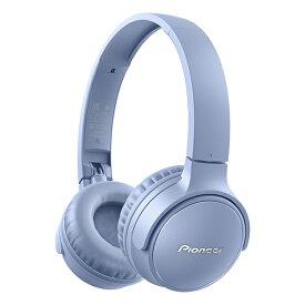 ブルートゥース ワイヤレス ヘッドホン Pioneer パイオニア SE-S3BT(L) ブルー 【1年保証】【送料無料】