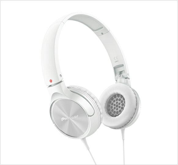 Pioneer(パイオニア) SE-MJ522-W(ホワイト) 密閉ダイナミック型ヘッドホン(ヘッドフォン)