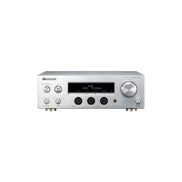 Pioneer パイオニア U-05 【送料無料】ヘッドホンアンプ内蔵USB-DAC【ヘッドホンの音を、さらなる頂に導く】