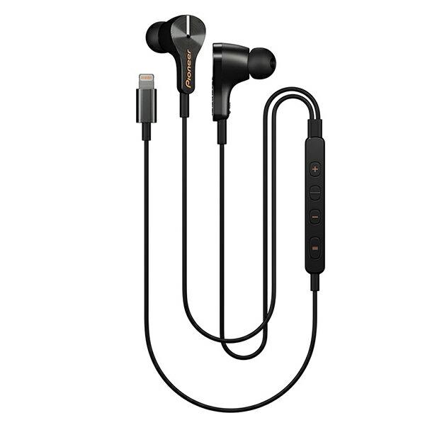 Pioneer(パイオニア) RAYZ SE-LTC3R-K オニキス【送料無料】 iPhone、iPod用 Lighitning イヤホン ライトニング イヤフォン