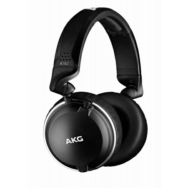AKG(アーカーゲー) AKG K182【モニターヘッドホン 密閉型 ヘッドフォン】【送料無料】