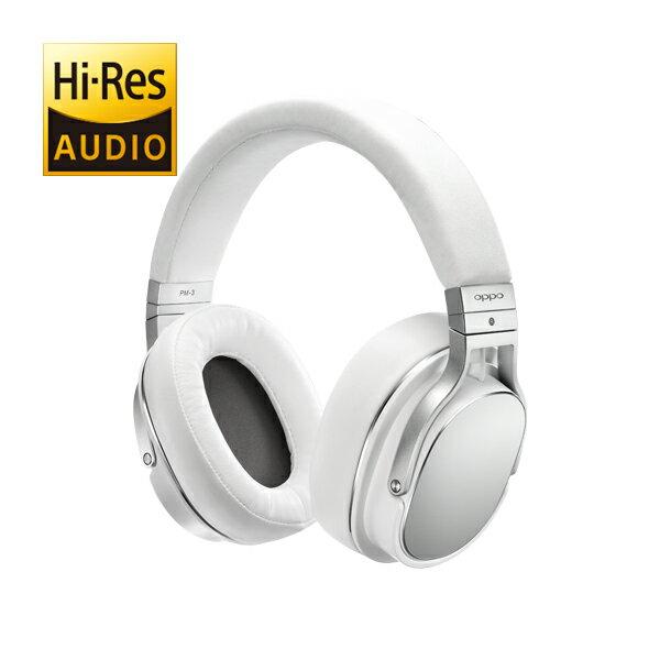【お取り寄せ】 OPPO オッポ PM-3 White(ホワイト)【OPP-PM3-CW】平面磁界駆動方式ヘッドホン ヘッドフォン【送料無料】