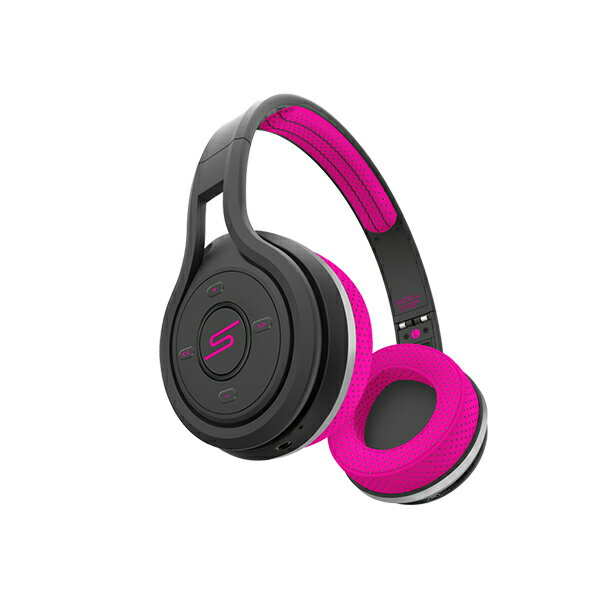 SMS Audio SYNC by 50 On-Ear Wireless Sport Headphone Pink(ピンク)【SMS-BTWS-SPRT-PNK】 Bluetooth スポーツ用 ワイヤレスヘッドホン ヘッドフォン 【送料無料】