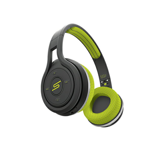 SMS Audio SYNC by 50 On-Ear Wireless Sport Headphone Yellow(イエロー)【SMS-BTWS-SPRT-YLW】 Bluetooth スポーツ用 ワイヤレスヘッドホン ヘッドフォン 【送料無料】