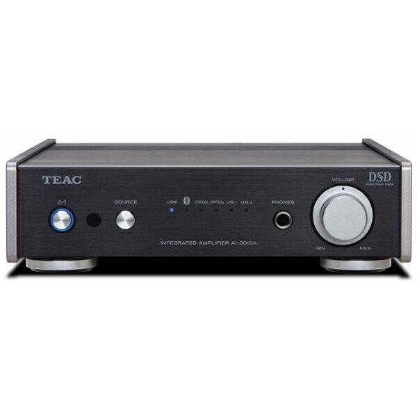 【お取り寄せ】 USB DAC/ステレオプリメインアンプ TEAC ティアック AI-301DA-SP/B ブラック【送料無料】 【1年保証】